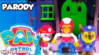 getlinkyoutube.com-PAW PATROL [Parody Toy Video] Scooby Doo Haunted Mansion GAME SHOW by EpicToyChannel