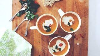 getlinkyoutube.com-Easy Carrot & Coriander Soup | A Tasty Plate