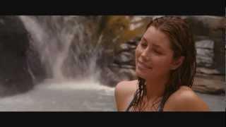 getlinkyoutube.com-The Beautiful & Sexy Jessica Biel Getting Wet - Jessica Biel in Sexy Bikini Sexy boobs booty scene