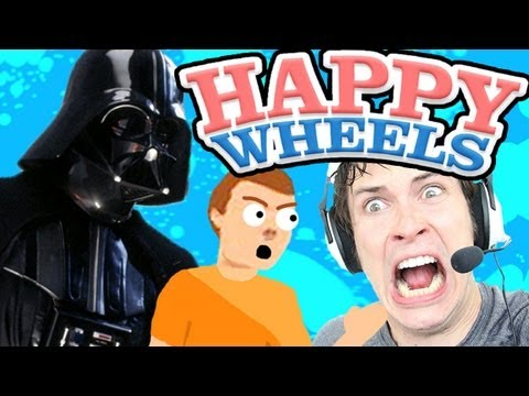USE THE FORCE, SON!! - Happy Wheels