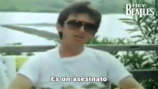 getlinkyoutube.com-George Harrison habla sobre la muerte de John Lennon 1982 (Subtitulado)