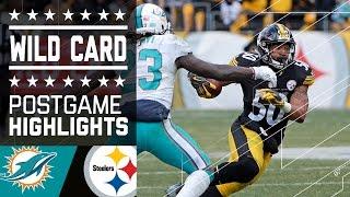 flushyoutube.com-Dolphins vs. Steelers | NFL Wild Card Game Highlights