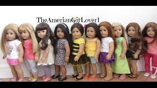 getlinkyoutube.com-How I Dress My American Girl Dolls