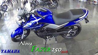getlinkyoutube.com-Nova Yamaha Fazer YS 250 2016 (Novo Design) moto filmador