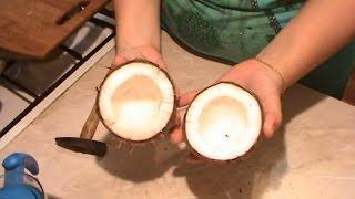 getlinkyoutube.com-Как легко разбить кокос