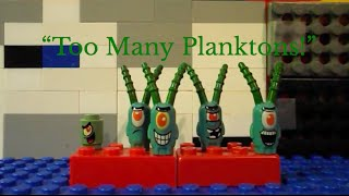 "getlinkyoutube.com-Mega Bloks Spongebob ep. 14 ""Too Many Planktons"""