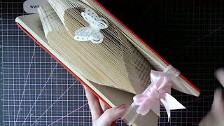 getlinkyoutube.com-Beginners book folding - A Basic heart fold