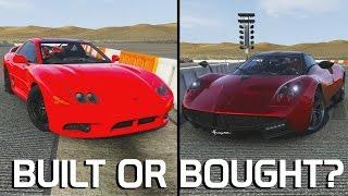 BUILT OR BOUGHT? || Mitsubishi 3000GT VS Pagani Huayra || Forza 6
