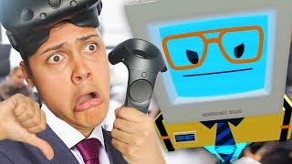 getlinkyoutube.com-I GOT FIRED FROM MY OFFICE JOB - Office Worker (Job Simulator Virtual Reality)