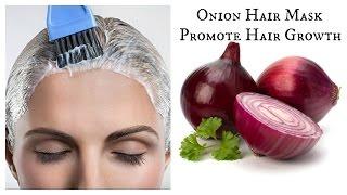 getlinkyoutube.com-DIY Onion Hair Mask | Promote Hair growth