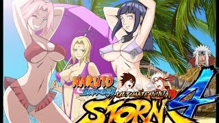 getlinkyoutube.com-Naruto Ninja Storm 4 Hidden Bikini Characters & Secret Sexy Jutsu Technique