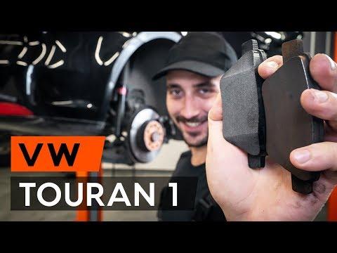 Как заменить задние тормозные колодки на VW TOURAN 1 (1T3) (ВИДЕОУРОК AUTODOC)