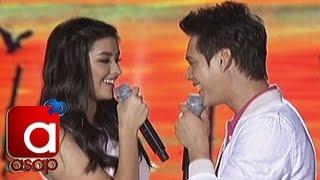 "getlinkyoutube.com-ASAP: Liza, Enrique sing ""Tunay na Ligaya"" on ASAP"