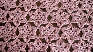 getlinkyoutube.com-Crochet motif Shawl Part 1