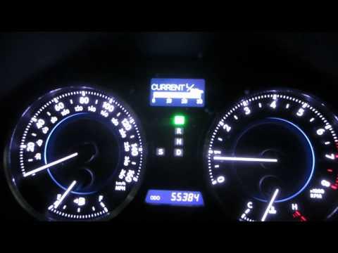 Русификация Lexus IS250 AWD 2012