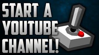getlinkyoutube.com-How To Start A Gaming Channel For FREE - How To Start A YouTube Channel!