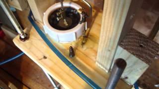 getlinkyoutube.com-Water bottle stirling engine disaster / new diaphragm