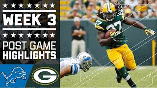 getlinkyoutube.com-Lions vs. Packers (Week 3) | Game Highlights | NFL