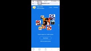 getlinkyoutube.com-طريقة تحميل مئات الالعاب على الايفون عن طريق برنامج happy chick مضمونه 100%