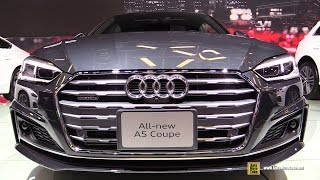 getlinkyoutube.com-2017 Audi A5 Coupe - Exterior and Interior Walkaround - 2017 Montreal Auto Show