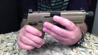 getlinkyoutube.com-FN FNX-45 Tactical 45ACP Semi-Auto Pistol Overview - Texas Gun Blog