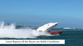 Boat Crash in Keywest 11-10-17 Superboat Shot by: Elane Martin