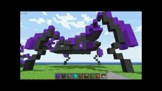 getlinkyoutube.com-Halo Vehicles in Minecraft (player scale, mostly old designs)