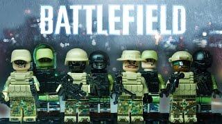 Лего Батлфилд военные минифигурки из Китая - Lego Battlefield Decool