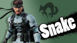 getlinkyoutube.com-What If Snake Was Announced For SSB4?