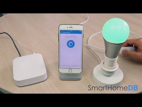 HOW-TO: Pair and Connect your Samsung SmartThings Hub with an Aeotec Color Bulb