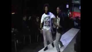 getlinkyoutube.com-Les Twins being silly at a fashion show