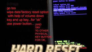 getlinkyoutube.com-Oppo R1 Hard Reset(wipe data facotry reset)..........