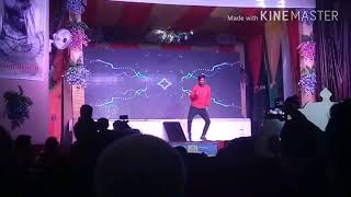 Jiya jale dance and popping at dance Vindhya dance 4 grand finale performing by Shubham (me})