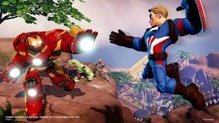 Disney Infinity 3.0 | Marvel Battlegrounds Intros