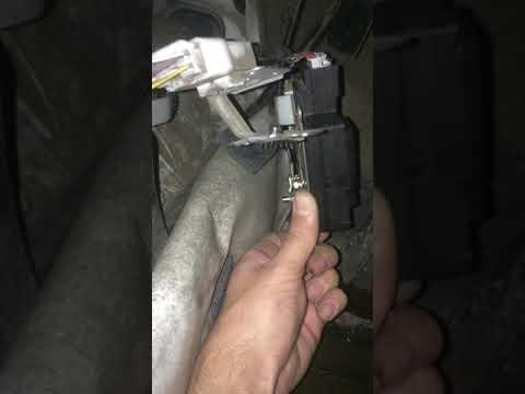 Привод управления краном печки Toyota vista sv33