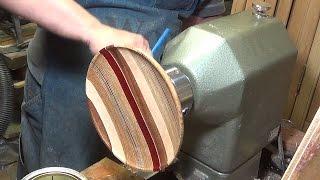 getlinkyoutube.com-Woodturning a Striped Platter