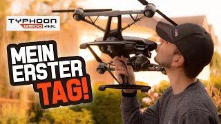 getlinkyoutube.com-Q500 4K Kamera Drohne - MEIN ERSTER TAG!