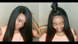 getlinkyoutube.com-Natural & Flawless Under $50! Isis Collection BS504 Florence Seamless Lace Wig