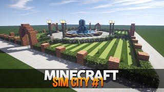 Minecraft SimCity #1: A Cidade Moderna!