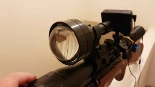 getlinkyoutube.com-3D Printed Night Vision addon - night time footage
