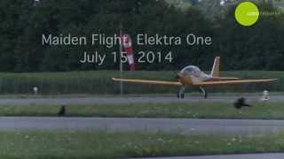 getlinkyoutube.com-Segelflugzeug Elektra One Erstflug mit Kreisel Electric Batteriepack