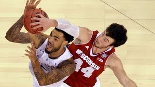 getlinkyoutube.com-2015 NCAA Final Four Semi Final  Kentucky vs Wisconsin