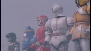 Aquitian Rangers' First Megazord Battle