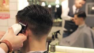 getlinkyoutube.com-Pomapadour By Cut & Sew barbers.