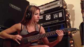 getlinkyoutube.com-Meshuggah Demiurge Guitar Cover