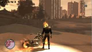 getlinkyoutube.com-GTAIV Ghost Rider mod