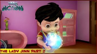 Vir : The Robot Boy   The Lady Jinn Part 2   3D Action shows for kids   WowKidz Action width=
