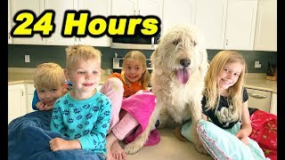 24 HOURS IN OUR KITCHEN OVERNIGHT!!!