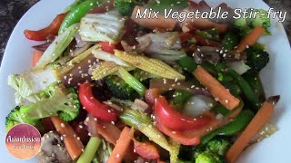 getlinkyoutube.com-Mixed Vegetable Stir-fry