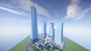 getlinkyoutube.com-Minecraft Timelapse - World Trade Center - Part 6
